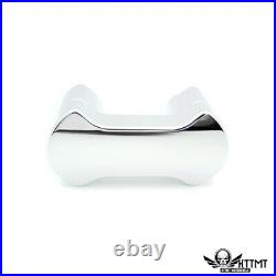 1 1 inch Hefty Handlebar Riser/Top Clamp Kit Chrome 2 Tall For Harley Softail
