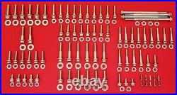 2007-2017 Harley Softail Arp Grade 8 12 Point Polished Stainless Engine Bolt Kit