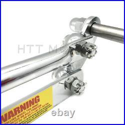 4 Over Chrome Springer Front End Kit For Harley Sportster Chopper Softail