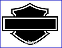7 Black Headlight Cowl Nacelle Kit Harley Davidson Softail FL 2001-2017