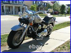 7 Chrome Headlight Cowl Nacelle Kit 86-17 Harley Softail Fatboy Heritage FLSTF