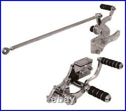 86-99 Harley Softail Chopper Chrome Forward Controls Control Kit 45872