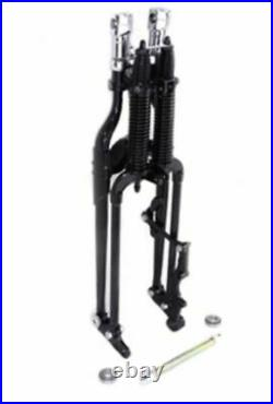 Black Replacement Replica FLSTS Springer Front End Kit Harley Heritage Softail