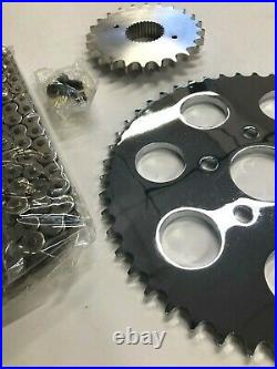 Chain Drive Sprocket Conversion Kit For 5 Speed Harley Softail 1986-1999