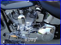 Chrome Primary Cover Bolt Kit For Harley Softail 89-06