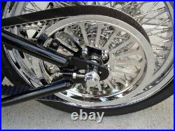 For Harley Fat Boy Softail 00-06 Spoke 70 T 1 1/8 Pulley & Rotor Kit Parts