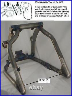 For Harley TC Softail USA Made 250 Wide Tire Swingarm Kit 2007-11 TC 6-Speed