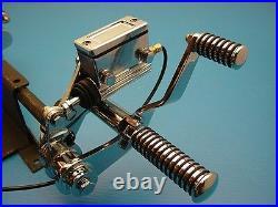 Forward Control Kit Chrome fits Harley 1958-86 Big Twin & 1986-99 Softail