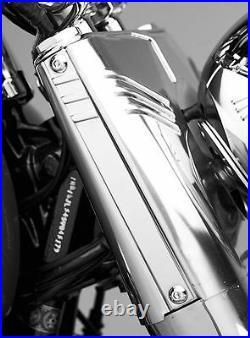 Gabelverkleidung Umbaukit Black Harley Davidson Softail Fat Boy & Heritage 83-16