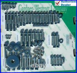 Garnder Westcott Chrome Allen Engine Hardware Bolts Dress Up Kit Softail Harley