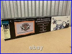 Harley-Davidson 100th Anniversary Softail Touring WINDSHIELD TRIM KIT 57126-02