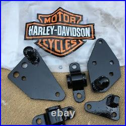 Harley Davidson Softail Heritage Fatboy Bolt-On Sidecar Mounts Kit