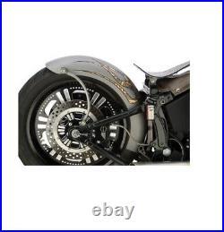 Harley Lucky F@#cker Bobber Rear Fender Kit Softail Heckfender 200mm 06-17