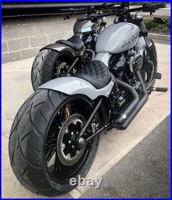 Harley Softail Breakout Fatboy Killer Custom solo seat rear fender Kit 18-21
