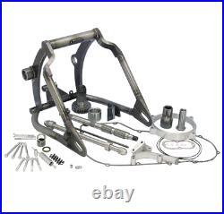Harley Softail Breitreifen Schwingen Wide Ass swing arm 250mm kit 2000-2006 TÜV