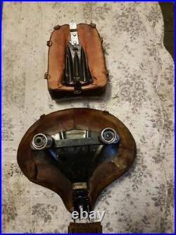 Harley Softail cross bones solo seat kit