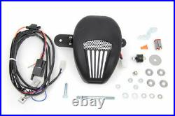 Jims Forceflow Engine Cylinder Head Cooler Kit Black Harley Softail Dyna Touring