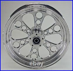 Kool Kat Rear Billet Wheel 16 X 3.5 Harley 08-15 Softail Flst Flstc Flstn Deluxe