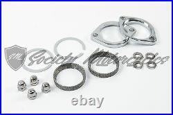 LAF 2.25 Drag Pipes Exhaust Harley Softail Gasket Kit Harley Davidson Exhaust