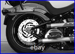 Legend Suspension Air Ride Adjustable Shocks Shock Kit Pair Harley Softail 00-17