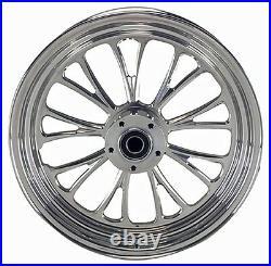 Manhattan Rear Billet Wheel 16 X 3.5 Harley 08-15 Softail Flst Flstc Heritage