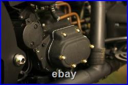 Muttern-Satz Motor Messing Hutmutter Harley Softail Evo 99 Schrauben Zoll Kit