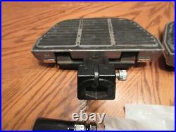 OEM Harley Davidson Softail Passenger Floorboard KIT HD Script covers -2000-17