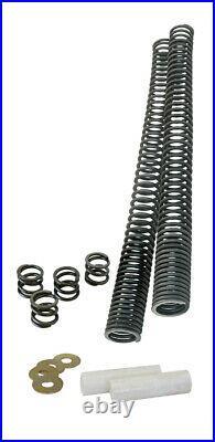 Progressive 10-1561 2 Front Fork Springs Lowering Kit 41MM Harley Softail Dyna