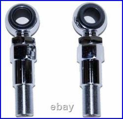 Progressive Suspension Shocks 2 Chrome Shock Lowering Kit Pair Harley Softail