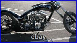RSD SLASHER EXHAUST HARLEY SOFTAIL CHOPPER 250 300 FRAME wide tire kit kraftech