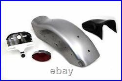 Rear Dyna Softail Style Bobbed Steel Fender Tail light Kit Harley Sportster XL