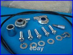 Rear Wheel Speedometer Kit For Harley Softail 1986-95 New