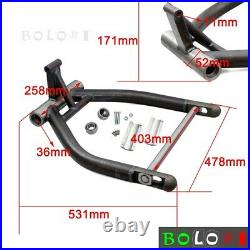 Right Drive Axle Fat Wide Tire Swingarm Kit 280 300 Tire For Harley Softail 1999