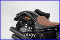 SW Motech Legend Saddle Bag Kit to fit Harley Davidson Softail Street Bob FXBB