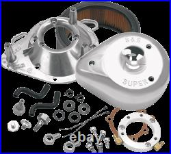 S&S Cycle Chrome Tear Drop Air Cleaner Kit for 93-06 Harley Dyna Touring Softail