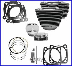 S&S Cycle M8 Big Bore Cylinder Piston Kit 107 124 Harley Touring Softail 17-20