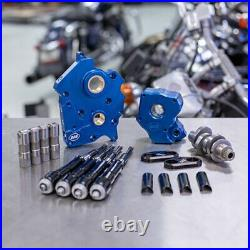 S&S M8 Cam Plate Oil Pump Kit Package Black 465C Chain Harley Touring Softail
