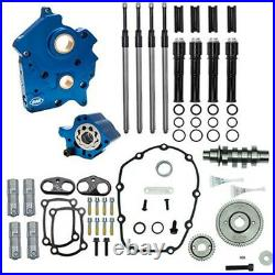S&S M8 Cam Plate Oil Pump Kit Package Black 465G Gear Harley Touring Softail 17+