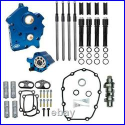 S&S M8 Cam Plate Oil Pump Kit Package Black 475C Chain Harley Touring Softail W