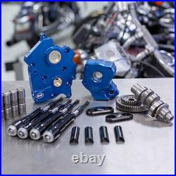 S&S M8 Cam Plate Oil Pump Kit Package Black 475G Gear Harley Touring Softail 17+