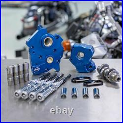 S&S M8 Cam Plate Oil Pump Kit Package Chrome 465C Chain Harley Touring Softail
