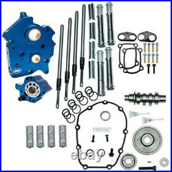 S&S M8 Cam Plate Oil Pump Kit Package Chrome 475G Gear Harley Touring Softail