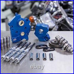 S&S M8 Cam Plate Oil Pump Kit Package Chrome 475G Gear Harley Touring Softail W