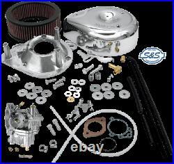 S&S Super E Carburetor Kit 84-92 Harley Davidson Dyna Touring Softail FXR FLHTC