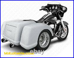 TRIKE BODY KIT With AXLE & SWINGARM CONVERSION FOR HARLEY SOFTAIL MODELS 1984-PRES