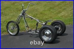 Trike Softail Chopper Frame Axle Swingarm Rolling Chassis Kit Harley Tri-Glide 1
