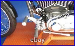 V-Twin Jockey Suicide Shift Kit Foot Clutch Cable Harley Softail FXST Chopper