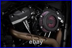 Vance & Hines Black VO2 Rogue Air Cleaner Kit for 18-19 Harley Softail FXFB FXBR
