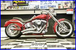 Wide Tire Right Side Drive Swing Arm 250 Tire Kit Harley Softail Fxst Chopper