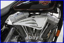 Wyatt Gatling Air Cleaner Kit for Harley Softail 1993-2007 Chrome
